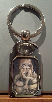 A Candle in the Dark . Jasmine Becket Griffith. Keyring. Skull. Fairy.
