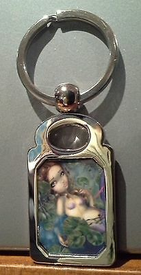 Dragonfly Mermaid. Jasmine Becket Griffith. Keyring. Fairy.