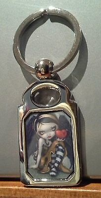 Heart of Nails. Jasmine Becket Griffith. Keyring. Fairy. Goth.