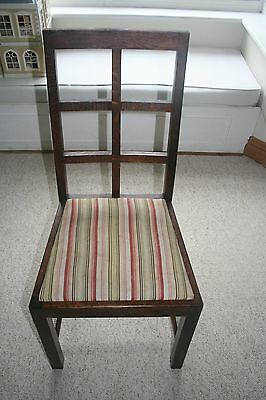 Set of 6 'art deco style' chairs