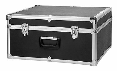 Deluxe Accordion Case For 96 Bass Instrument Lockable Metal Exterior Carry Bag