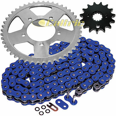 Blue O-Ring Drive Chain & Sprockets Kit Fits SUZUKI GSX600F Katana 600 1998-2006