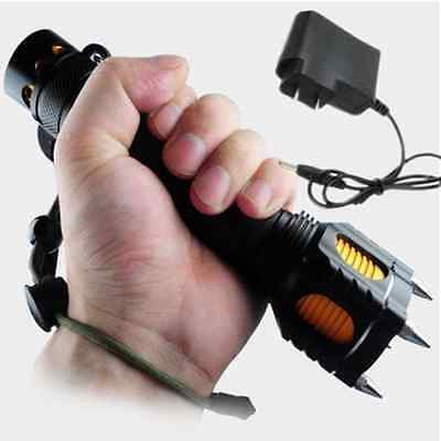 2000Lm Tactical UltraFire CREE XM-L T6 LED Flashlight Torch + AC Charger