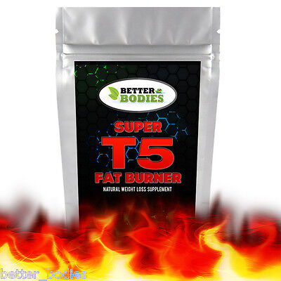 Very Strong T5 Diet Slimming Pills Tablets Fast Weight Loss Lose Fat Super