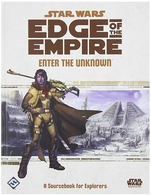 Star Wars Edge Of The Empire Rpg:  Enter The Unknown  - BRAND NEW