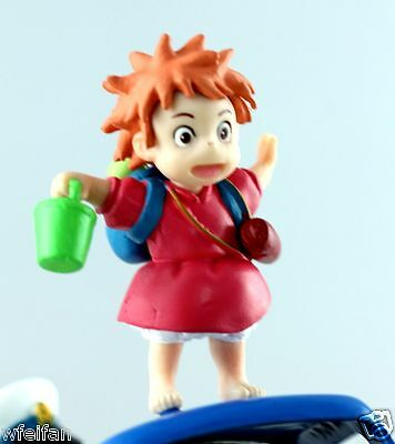 JAPAN STUDIO GHIBLI COLLECTION Ponyo on A Cliff by The Sea  Figures Scene