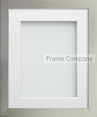 Frame Company Connolly Range Gold or Silver Wood Picture Photo Frames with Mount