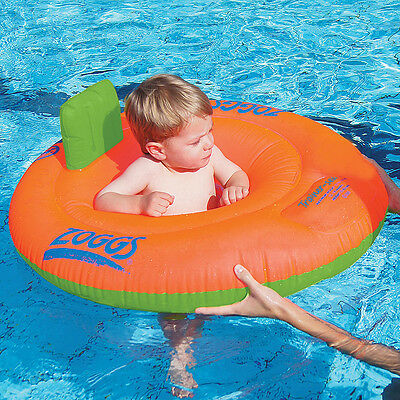 Toddler Inflatable Ring 12-18 mths Learn to swim ZOGGS TRAINER SEAT baby 303213