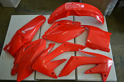 Race Tech  Honda Plastic Kit Crf250R Crf250 2006 2007 Red #s  Shrouds  Fenders