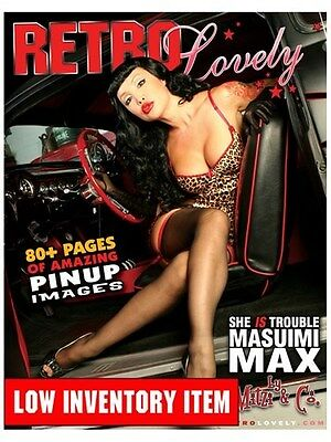 Retro Lovely Magazine Issue # 1 First Pressing