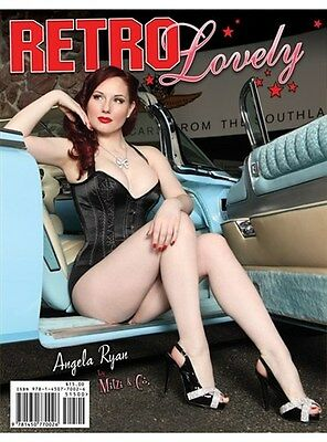 Retro Lovely Magazine Issue #5 Angela Ryan