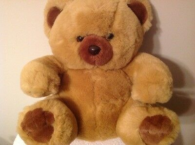 "Beautiful Brown Little Bear by Russ, measures 16"", New!"