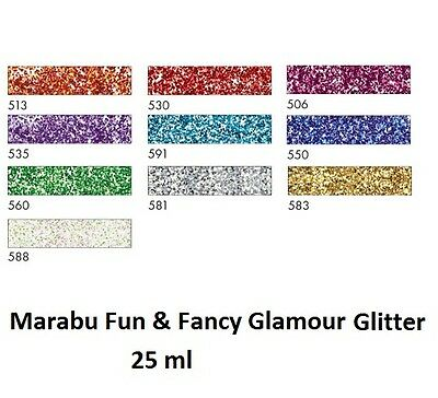 Original Marabu Window Color  Glamour Glitter Farbwahl Möglich