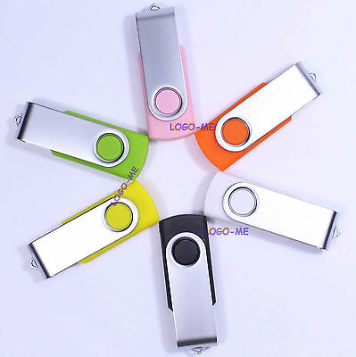 5pcs 4GB 4 G USB Flash Drive Stick Fold Pen Storage U Disk Photography Best Gift