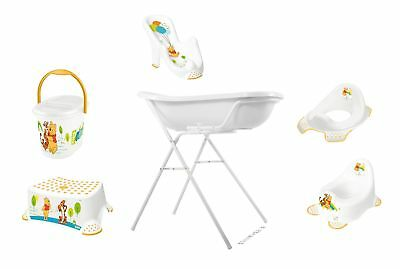 Ensemble de 7 Winnie Pooh blanc Set baignoire XXL+ Siège +Support+Pot +WC+