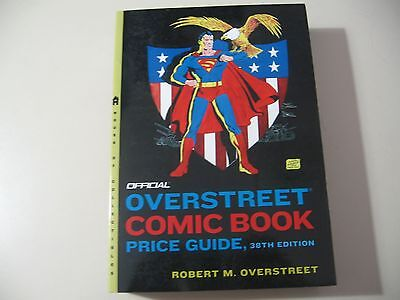 Overstreet Comic Book Price Guide (38th Edition softcover) May 2008, good cond..