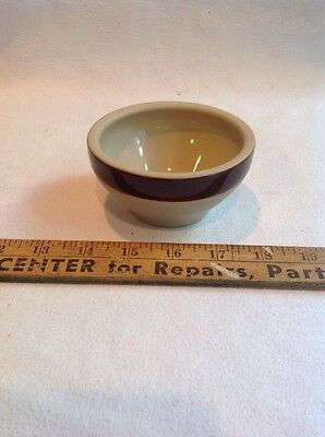 Vintage Stone Ware Very Small Mixing Bowl  - Small Stoneware Bowl Made In Franc
