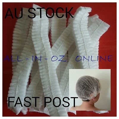 SPECIAL Hair Net Disposable Hygiene Stretch Non Woven Tan Dust Cap