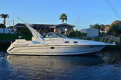 1997 Doral 350 SC Cabin Cruiser w/ Twin 454's Very Luxurious Boat  Watch VIDEO