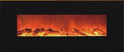 "54"" W/MOUNT LINEAR ELECTRIC FIREPLACE; 1500 WT; SAFE CUTOFF; REMOTE; LED, CSA/UL"