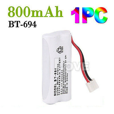 OZ J Cordless Phone Battery For Uniden BT-694 BT-694S 2.4V 800MAH Ni-MH