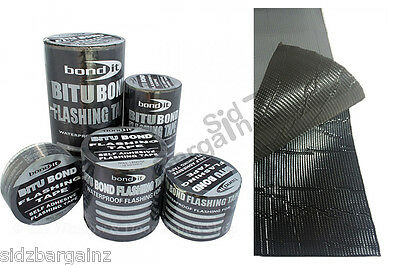 Flashband Roofing FLASHING ADHESIVE TAPE by Bond it. Sold in meter lengths.