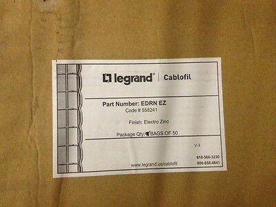 CABLOFIL - Bag of 50 Fast Snap Cable Tray Splice EDRNEZ (NEW)