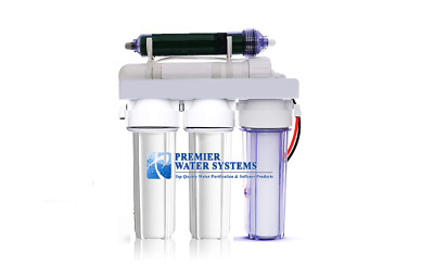 Aquarium Reef Reverse Osmosis 5 stage RO/DI SYSTEM 75 GPD MADE IN USA