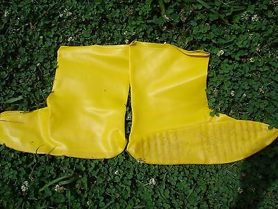 "10 pair NEW North Safety 12"" A352 Latex Bootie [ boot cover]"
