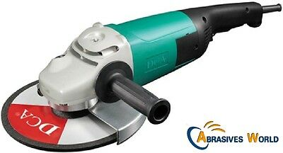 "2020W DCA 9"" Angle Grinder 230mm x 22mm. powerful cutting and grinding all metal"