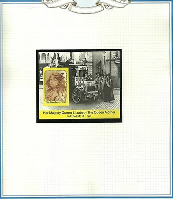 The Gambia MNH Stamp Sheet - HM Queen Elizabeth The Queen Mother #2