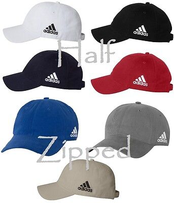 Adidas Golf Unstructured Cresting Cotton Cap A12 Golf Baseball Hat 7 Colors NEW