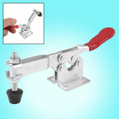Red Handle Horizontal Quick Holding Toggle Clamp Tool 90Kg 198 Lbs 201B