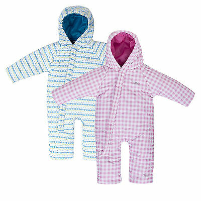 Trespass GISMO Unisex Babies Padded Windproof snowsuit *