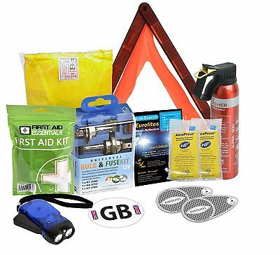 Travel Abroad European Euro Kit Driving In Europe EU Car Van Caravan Vehicle
