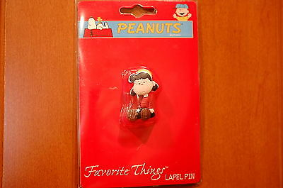 Peanuts Snoopy Lucy Sitting Pvc Pin Uf046