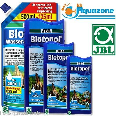 JBL Biotopol 100ml  250ml 500ml 625ml WATER CONDITIONER ORIGINAL