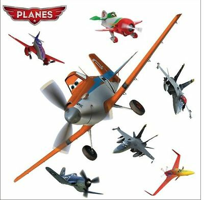 PLANES Disney DUSTY Décoration Murale XL STICKERS Muraux 100cm Les Avions