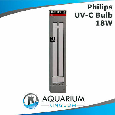 Philips 18W Ultra Violet Clarifer Lamp Light Bulb Fish Pond One ClearTec UV-C