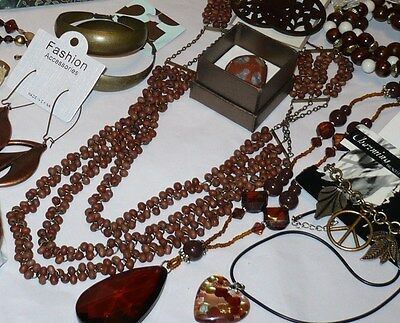 Closeout Jewelry lot grab bag necklaces, earrings & more 10 pieces only $11.99