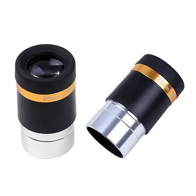 "1.25"" 31.7mm 62-Deg Eyepiece Lens 23mm Fully Coated for Telescope Celestron Wide"