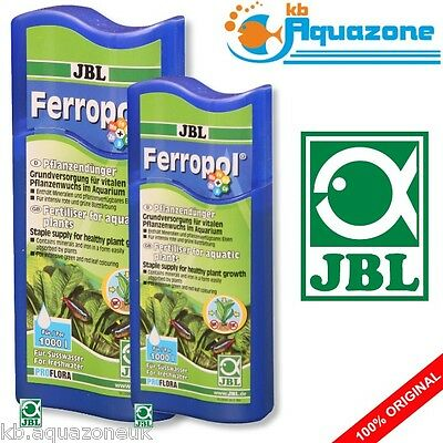 JBL Ferropol 100ml or 250ml PLANT FERTILISER * staple supply for healthy growth