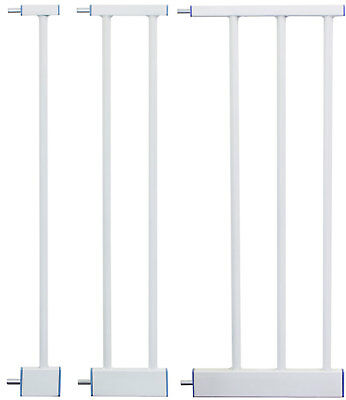 Extensions MEGANE | 3 dimensions | WHITE for children safety gates stair gates