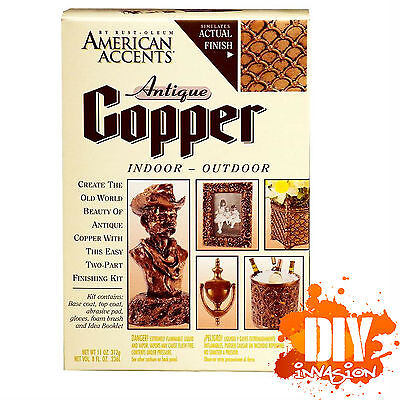 American Accents Antique Copper Paint Painting Kit by Rust-Oleum Home Decore Art