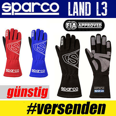 SPARCO Land L3 Handschuh Professionelle Handschuhe Motor Sport Fahrer Rally