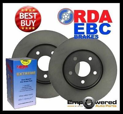 Ford Territory TS TX Ghia 2WD/4WD 2004-12 REAR DISC BRAKE ROTORS + PADS RDA7935