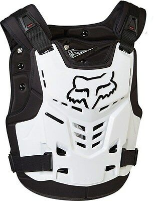 Fox Proframe LC Roost Deflector Chest Protector Adult & Youth White MX ATV MTB