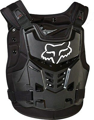 Fox Proframe LC Roost Deflector Chest Protector Adult & Youth Black MX ATV MTB