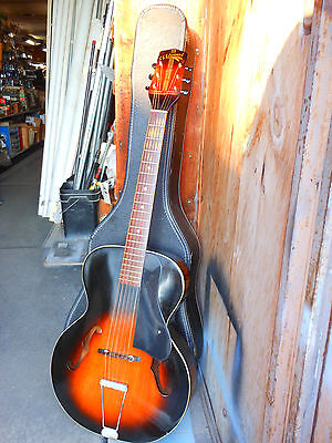 1950's Vintage Guitar SS Stewart Acoustic Archtop Guitar Very nice