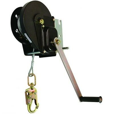 Falltech Fall Protection Materials Winch w/120' Galvanized Steel Cable